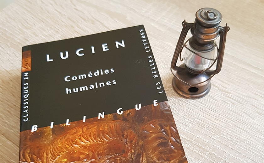 Lucien, Comédies humaines – Contre la profanation par les incultes
